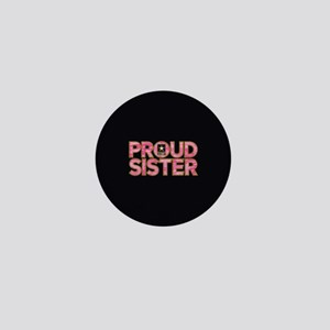 Proud Army Sister Mini Button