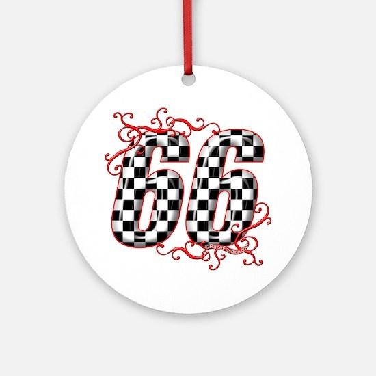 RaceFashion.com 66 Ornament (Round)