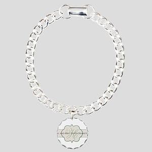 Elegant Names and Monogram Bracelet