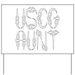 USCG Aunt Yard Sign
