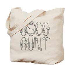 USCG Aunt Tote Bag