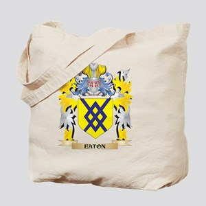 Eaton Coat of Arms - Family Crest Tote Bag