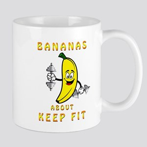 Bananas About Keep Fit Mugs