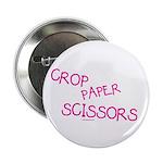 Pink Crop Paper Scissors 2.25
