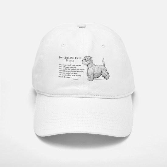 Westhighland Terrier Devotion Baseball Baseball Cap