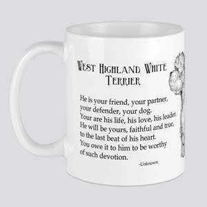Westhighland Terrier Devotion Mug