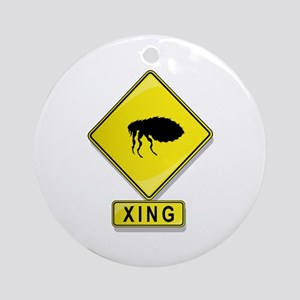 Flea XING Ornament (Round)