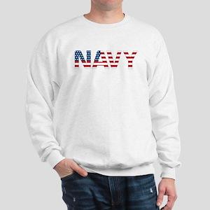 Navy Flag Sweatshirt