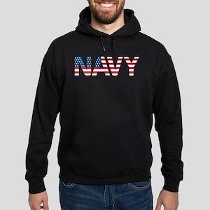 Navy Flag Hoodie (dark)