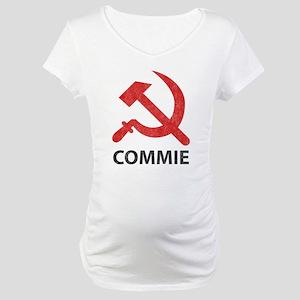 Vintage Commie Maternity T-Shirt