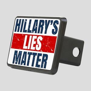 Hillary's Lies Matter Hitch Cover