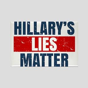Hillary's Lies Matter Magnets