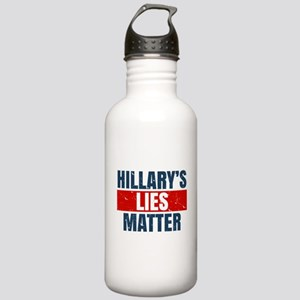 Hillary's Lies Matter Water Bottle
