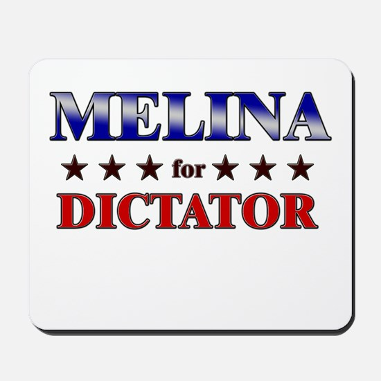MELINA for dictator Mousepad