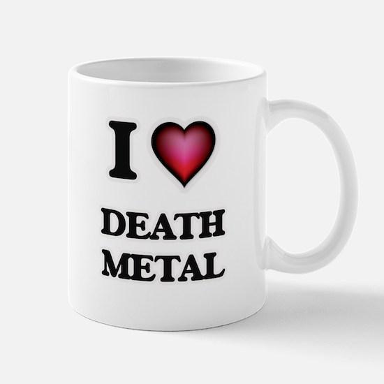 I Love DEATH METAL Mugs