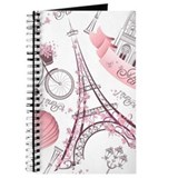 Paris travel Journals & Spiral Notebooks