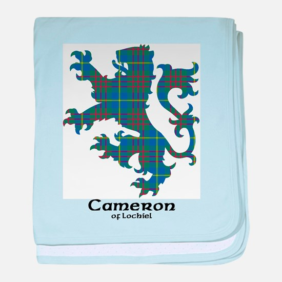 Lion-CameronLochiel hunting baby blanket