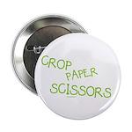 Green Crop Paper Scissors 2.25