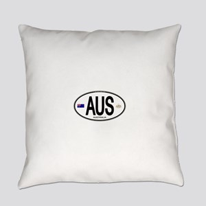 Australia Intl Oval Everyday Pillow