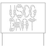 USCG Brat Yard Sign