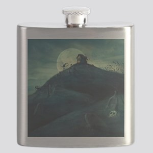 Haunted House Flask