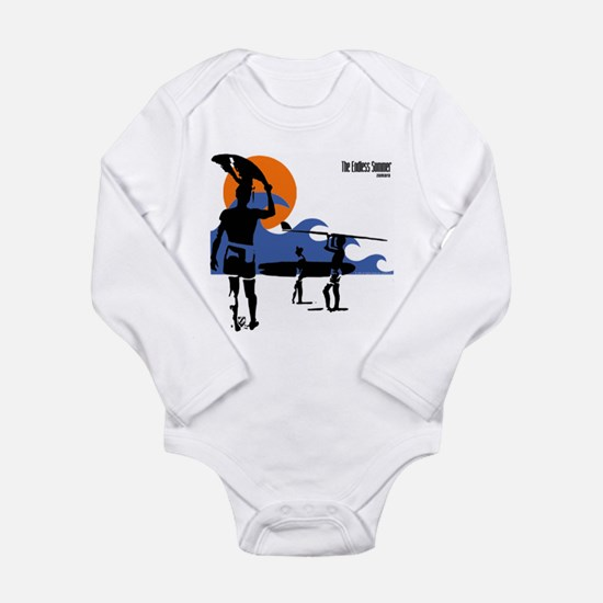 Endless Summer Surfer Long Sleeve Infant Bodysuit