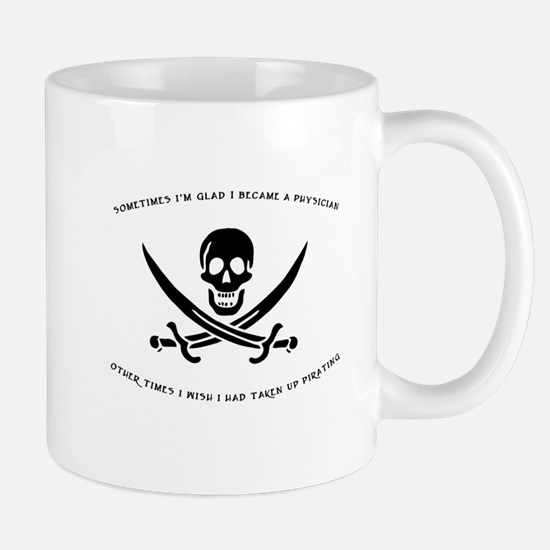 Pirating Physician Mug