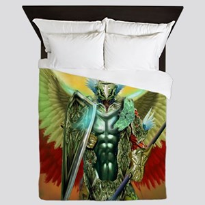 warrior angel Queen Duvet