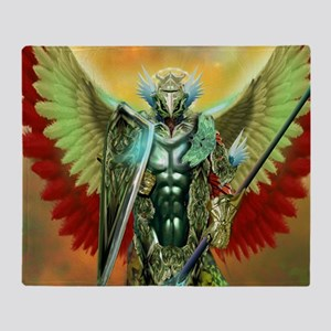 warrior angel Throw Blanket