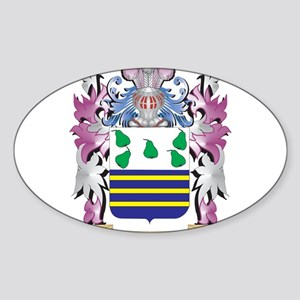 Kas Coat of Arms - Family Crest Sticker