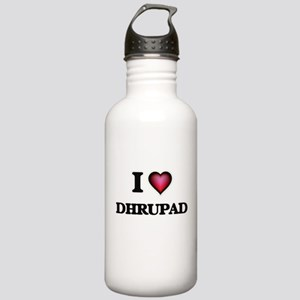 I Love DHRUPAD Stainless Water Bottle 1.0L