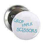 Blue Crop Paper Scissors 2.25