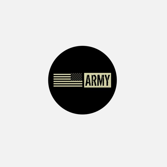 U.S. Army: Army (Black Flag) Mini Button