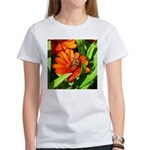 Bee on Orange Daisy T-Shirt