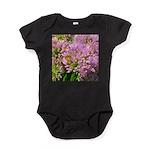 Bee on summer Milkweed Baby Bodysuit