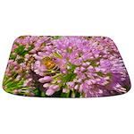 Bee on summer Milkweed Bathmat