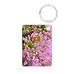 Bee On Summer Milkweed Keychains