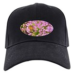 Bee on summer Milkweed Baseball Hat