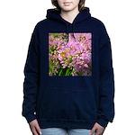 Bee on summer Milkweed Women's Hooded Sweatshirt