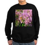 Bee on summer Milkweed Sweatshirt