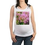 Bee on summer Milkweed Maternity Tank Top
