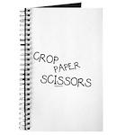 Crop Paper Scissors Journal