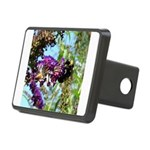 Bee on summer Milkweed Hitch Cover