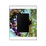 Bee on summer Milkweed Picture Frame
