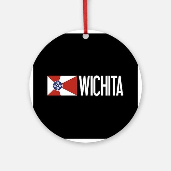 Wichita: Wichitan Flag & Wichita Round Ornament