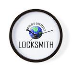 World's Greatest LOCKSMITH Wall Clock