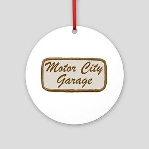 MC GARAGE Ornament (Round)