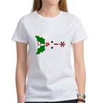 Kiss Emoticon - Mistletoe Women's T-Shirt