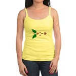 Kiss Emoticon - Mistletoe Jr. Spaghetti Tank