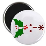 Kiss Emoticon - Mistletoe Magnet